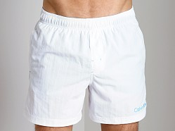 Calvin Klein Drawstring Swim Trunk White