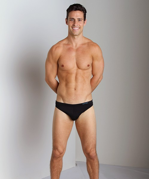 Calvin Klein Hipster Swim Brief Black