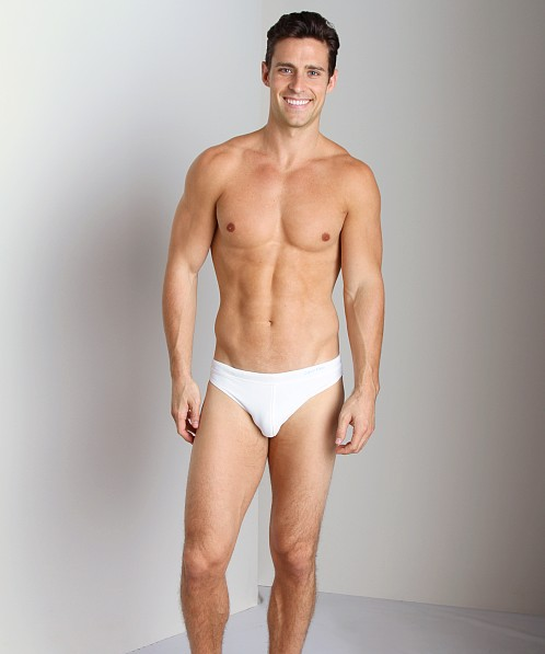 Calvin Klein Hipster Swim Brief White