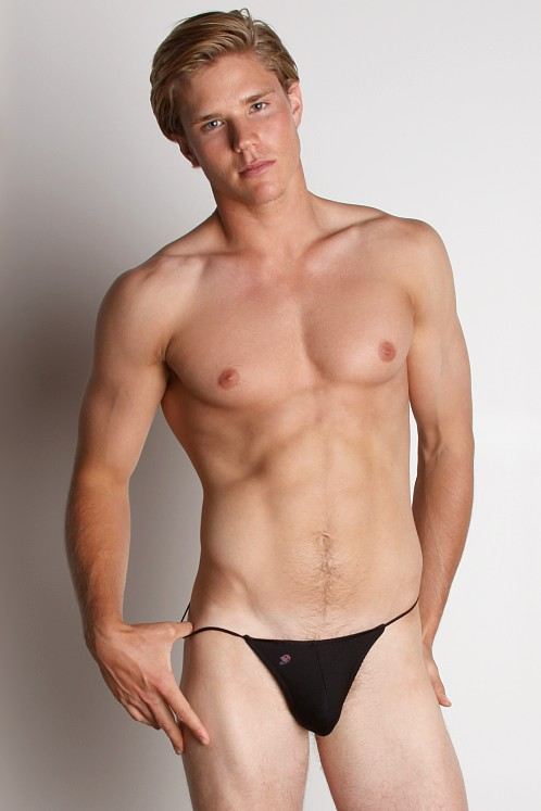 Joe Snyder Lycra G-String Black