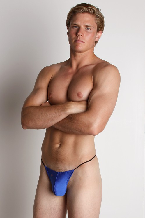 Joe Snyder Lycra G-String Royal