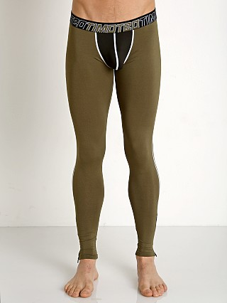 Timoteo Aero-Tech Sheer Pouch Leggings Army