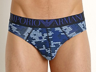 You may also like: Emporio Armani All Over Eagle Brief Marine Print