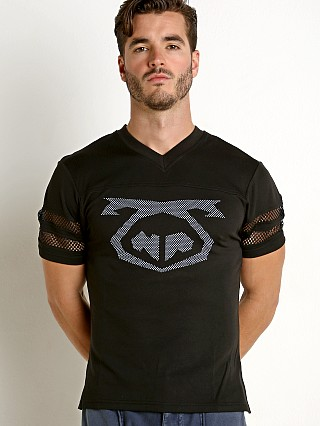 Nasty Pig Mesh Net Jersey Shirt Black