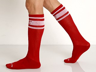 Nasty Pig Hooked Up Sport Socks Red
