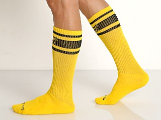 Nasty Pig Hooked Up Sport Socks Yellow