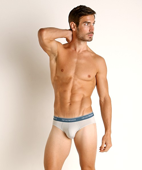 Emporio Armani Essential Microfiber Brief Cloud