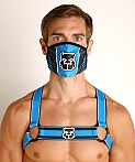Cell Block 13 Kennel Club Mask Turquoise, view 2