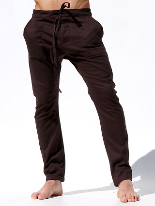 Complete the look: Rufskin Chocolat Cropped Casual Pants Chocolate Brown