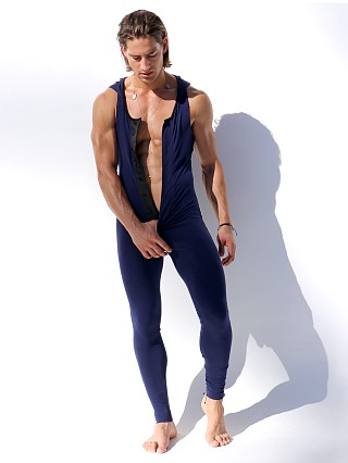 Complete the look: Rufskin Tug Fitted Hoody Bodysuit Navy