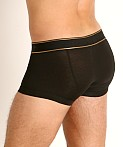 Emporio Armani Shiny Bold Eagle Trunk Black, view 4
