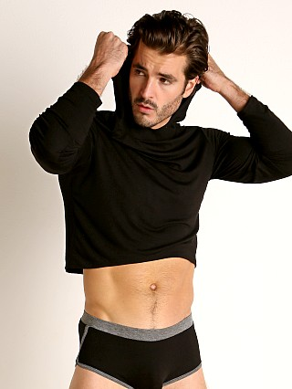 Complete the look: Go Softwear Body 2 Extreme Crop Top Hoodie Black