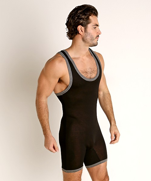 Go Softwear Body 2 Extreme Wrestling Singlet Black