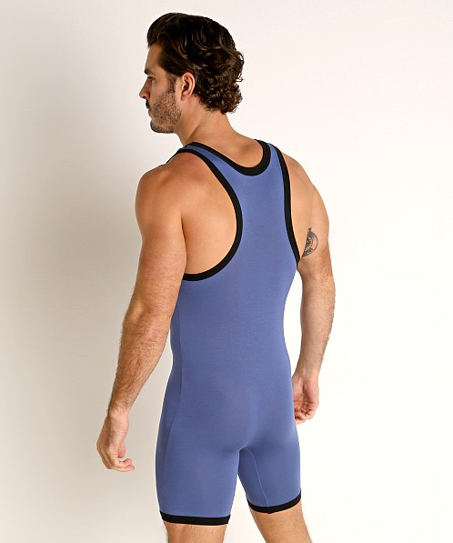 Go Softwear Body 2 Extreme Wrestling Singlet Denim