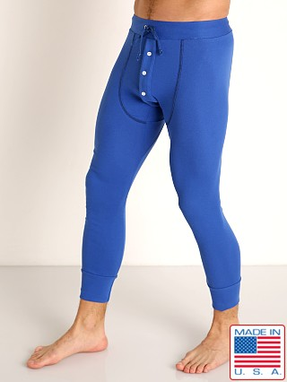 Model in royal Go Softwear Lumberjack Long Johns
