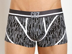 Cristiano Ronaldo CR7 Cotton Stretch Fashion Trunk Black Print