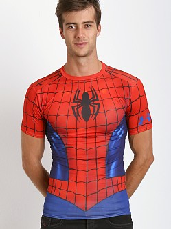 Under Armour Spider-Man Full Suit Compression Tee Red