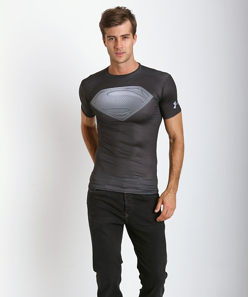 Under Armour Man of Steel Compression Shirt Black