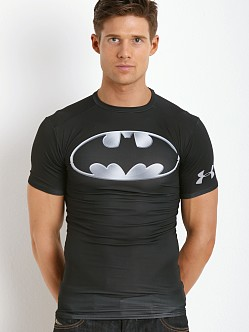 Under Armour Chrome Batman Heatgear Compression Shirt