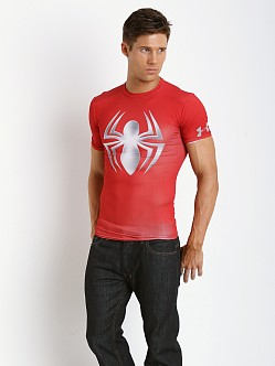 Under Armour Chrome Spider-Man Heatgear Compression Shirt