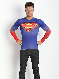 Under Armour Superman Heatgear Compression Longsleeve