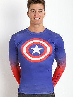 Under Armour Captain America Heatgear Compression Longsleeve