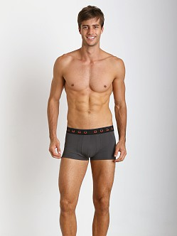 Hugo Boss Brushed Microfiber Boxer Grey