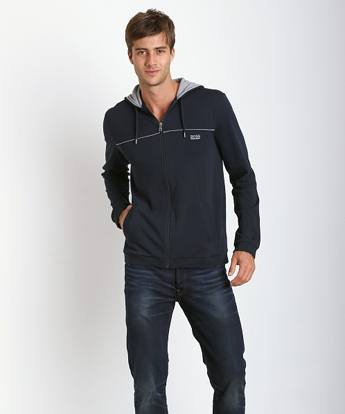 Hugo Boss Innovation 3 100% Cotton Hoodie Navy