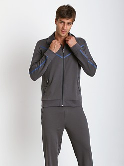 Hugo Boss Innovation 5 Zipper Jacket Dark Grey