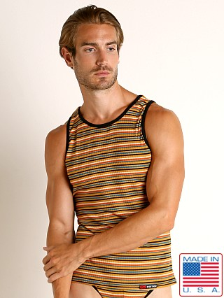 Go Softwear California Sunset Tank Top Gold Stripe