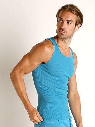 You may also like: Go Softwear Havana Rib Tank Top Caribbean Blue