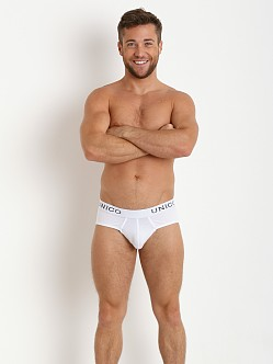 Mundo Unico Classic Cristalino Brief White