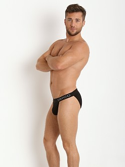 Mundo Unico Classic Caribbean Intenso Sports Brief Black