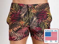 LASC Swim Shorts Black Palms