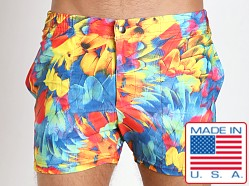 LASC Swim Shorts Parrot Feathers