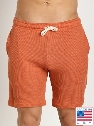 LASC Baby Waffle Gym Short Orange