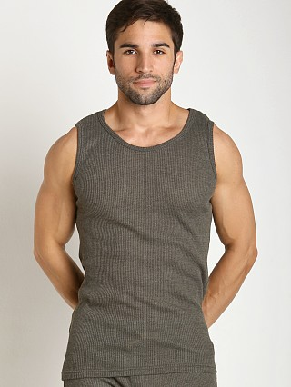 Complete the look: LASC Baby Waffle Tank Top Army