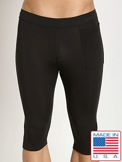 LASC Bamboo 3/4 Men's Tight Black