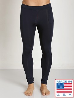 LASC Bamboo Long Tight Navy