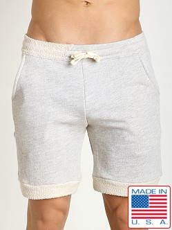 LASC French Terry Rower Short Heather Grey