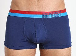 2xist Barcode No Show Trunk Blue Depths