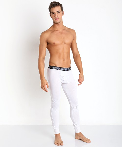 2xist Tartan Long John Winter White 42608-11301 at International Jock
