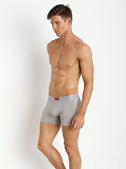 Levi's Underwear 200 Series Trunk Two-Pack Heather Grey