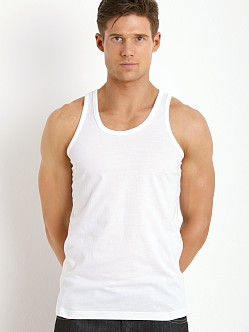 Levi's 200 Series 100% Cotton Tank Two-Pack Bright White