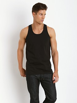 Levi's 200 Series 100% Cotton Tank Two-Pack Black