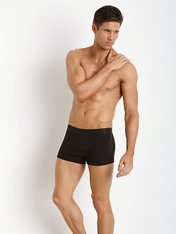 Levi's Underwear 300 Series Rib Trunks Two-Pack Black