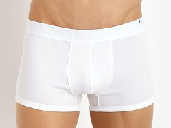Levi's Underwear 300 Series Rib Trunks Two-Pack Bright White