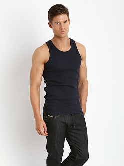 Levi's 300 Series Rib Tank Two-Pack Navy Blazer