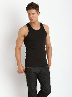 Levi's 300 Series Rib Tank Two-Pack Black