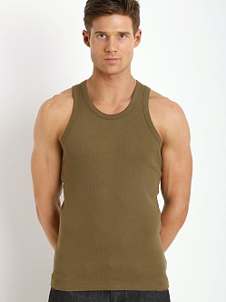 Levi's 300 Series Rib Tank Two-Pack Military Olive